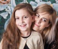 Мать с дочью Стоковые Фотографии RF