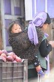 Мать с ребенком Стоковые Фото