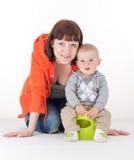 Мать с сыном Стоковое Фото