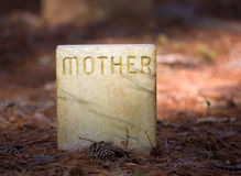 мать gravesite Стоковое Изображение