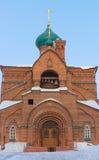 мать kazan иконы почетности бога церков Стоковое фото RF