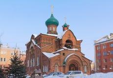 мать kazan иконы почетности бога церков Стоковые Изображения RF