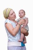 мать newborn Стоковое фото RF