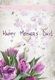 мать no2 s дня карточки Стоковая Фотография RF