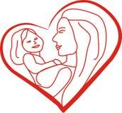мать s дня Бесплатная Иллюстрация