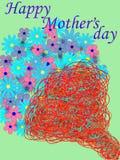 мать s дня счастливая Стоковые Изображения