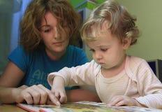 мать s урока Стоковое Фото