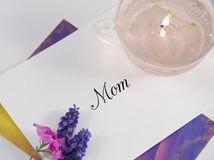мать s дня карточки Стоковые Фото
