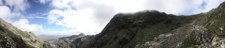 Маунт Snowdon Стоковое Изображение