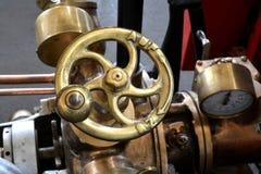 Маховичок историческая пожарная машина Стоковые Фотографии RF