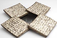 Мацы для еврейской пасхи Handmade с шаром серебра a Стоковые Фото