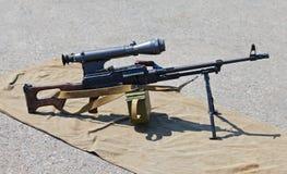 машина автомата Калашниковаа пушки Стоковое фото RF