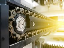 Машина автоматизации в современном производстве Стоковые Изображения RF