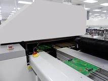 Машина автоматизации в современном производстве Стоковое фото RF