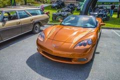 машина безопасности 2007 Chevrolet Corvette indianapolis 500 Стоковое Изображение RF