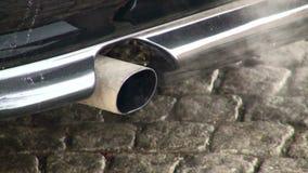 Машина выхлопной трубы сток-видео