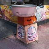 Машина конфеты хлопка стоковое фото rf