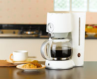 машина кофе боилера делает Стоковые Изображения RF