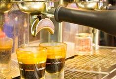 машина кофе Стоковые Фото