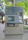 Машина Мельбурн Австралия билета Myki стоковое изображение