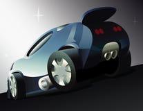 Машина мечты иллюстрация вектора