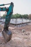 Машина на строительной площадке Стоковые Фото