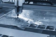 Машина отрезка лазера CNC стоковые фото