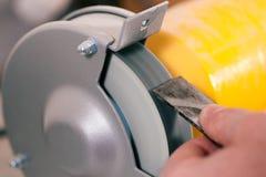 машина плотника меля стоковая фотография rf
