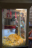 Машина попкорна Стоковое Фото
