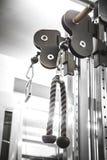 Машина прочности в спортзале стоковые фотографии rf
