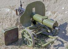 машина пушки старая Стоковое Изображение RF