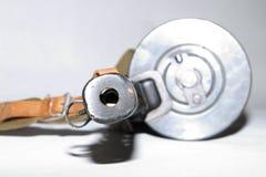 машина пушки старая Стоковая Фотография RF