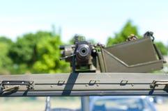 машина пушки тяжелая Стоковая Фотография RF