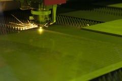 Машина резца лазера Стоковое фото RF