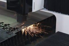 Машина резца лазера Стоковые Фотографии RF