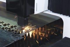 Машина резца лазера Стоковые Изображения