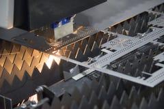 Машина резца лазера Стоковое Изображение RF