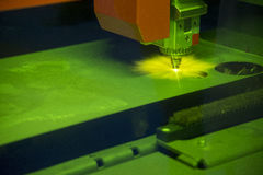 Машина резца лазера Стоковые Изображения RF