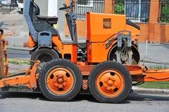 Машина ремонта дороги Стоковые Фотографии RF