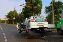 Машина скорой помощи автомобиля Стоковые Фото