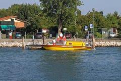 Машина скорой помощи воды Стоковая Фотография