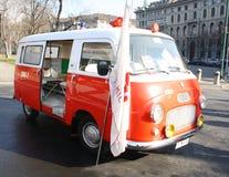 машина скорой помощи старая Стоковое Фото