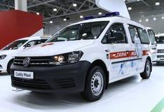 Машина скорой помощи Caddy VW макси Стоковое фото RF