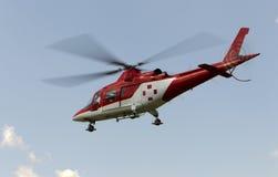 Машина скорой помощи Helicopret Стоковые Изображения