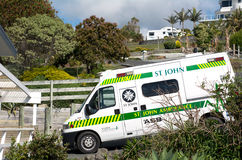Машина скорой помощи St. John Стоковое Изображение