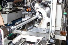Машина токарного станка для индустрии стоковое фото