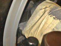 Машина токарного станка Стоковая Фотография