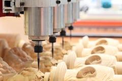 Машина филировать и экземпляра Woodworking Стоковое фото RF
