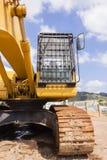 Машина экскаватора промышленная Стоковая Фотография