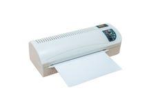 Машина для производства бумажных ламинатов восходящего потока теплого воздуха Hot&Cold Стоковая Фотография RF